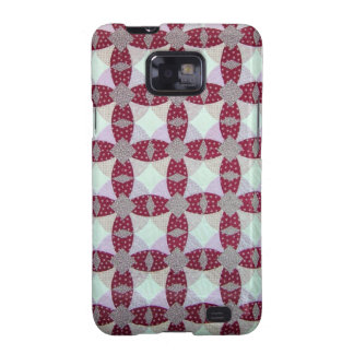 Pioneer Quilt Pattern Samsung Galaxy S2 Covers