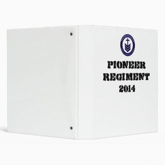 Pioneer Regiment Binder