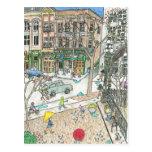 Pioneer Square, Seattle, Washington Post Card