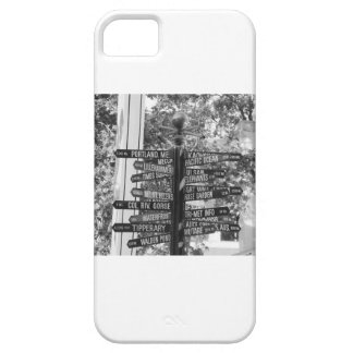 Pioneer Square street sign iPhone SE/5/5s Case