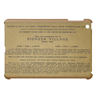 Pioneer Village, Brimley, Michigan iPad Mini Covers