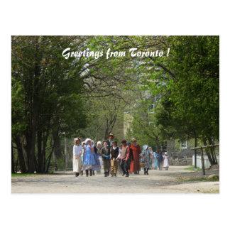 Pioneer Village, Toronto Tourism Postcard