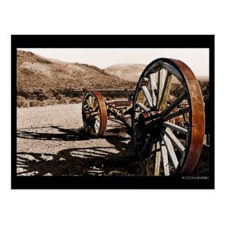 Pioneer Wagon R15 Postcard