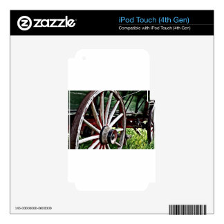 Pioneer Wagon Wheel Decals For iPod Touch 4G