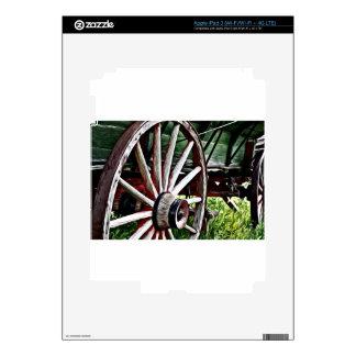 Pioneer Wagon Wheel Skin For iPad 3