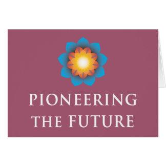 Pioneering Future Card