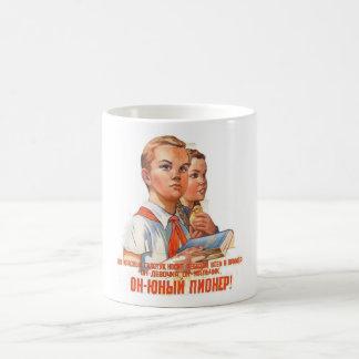 Pioneers II Classic White Coffee Mug