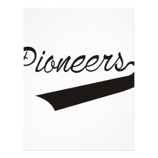 Pioneers Letterhead