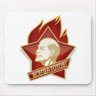 Pioneers Organization Vladimir Lenin Socialist Mouse Pad