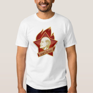 Pioneers Pin T-shirt feat. Lenin