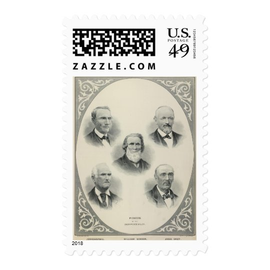 Pioneers Sacto Valley Postage
