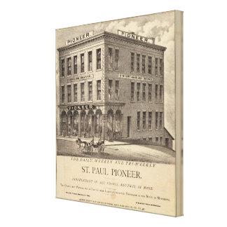 Pionero de San Pablo Impresión En Lona