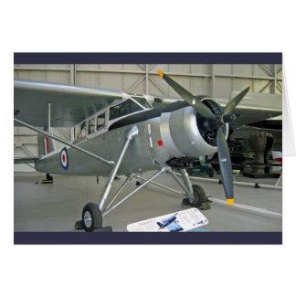 Pionero escocés de la aviación tarjeta de felicitación