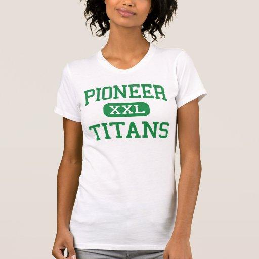 Pionero - titanes - alto - Whittier California Camiseta