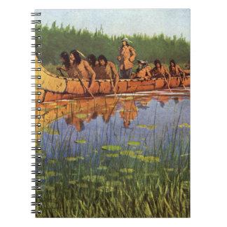 Pioneros del vintage, grandes exploradores por note book