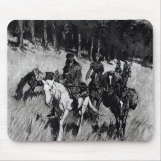 Pioneros tempranos en el Ridge azul Tapete De Ratón