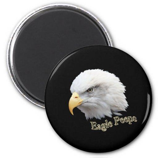 Píos de Eagle Imán Redondo 5 Cm
