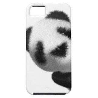 píos de la panda del bebé 3d iPhone 5 Case-Mate protectores