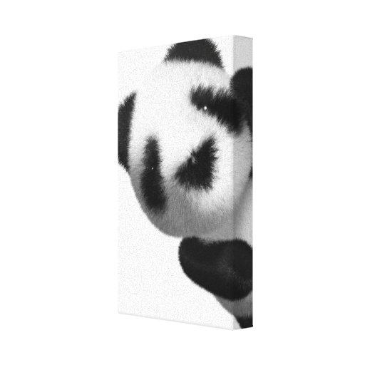 píos de la panda del bebé 3d impresiones en lona