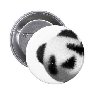 píos de la panda del bebé 3d pin redondo 5 cm