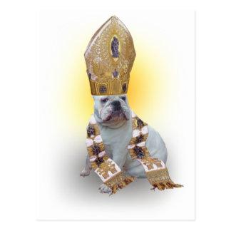 Pious Bulldog Postcard