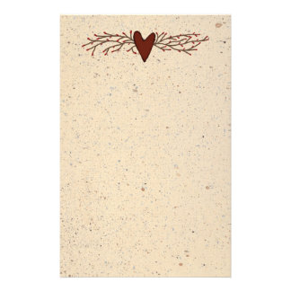 Pip Berry Heart Stationery