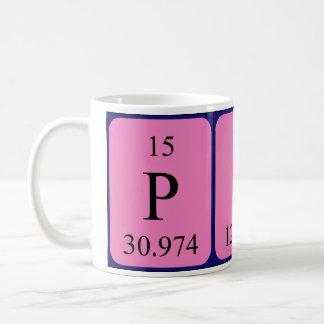 Pip periodic table name mug