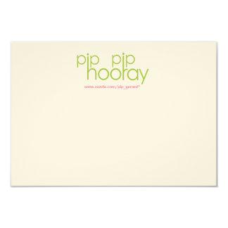 Pip Pip Hooray Product Backing Card