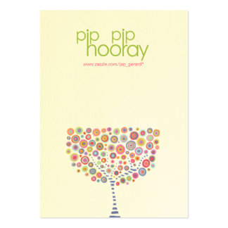 Pip Pip Hooray Product Backing Cards - Etsy, Ebay Large Business Cards (Pack Of 100)