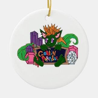 Pip the Goblin Ceramic Ornament