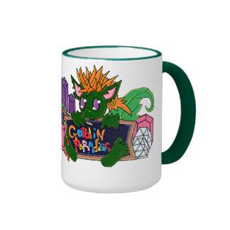 Pip the Goblin Ringer Coffee Mug