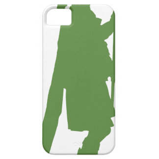 Pipe Band Leader Silhouette iPhone SE/5/5s Case