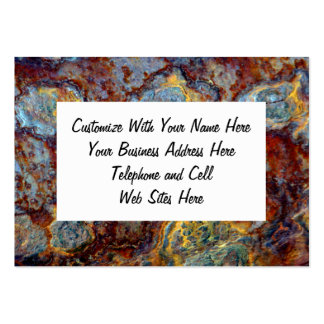 Pipe Blisters Beautiful Grunge Rust Pattern Large Business Cards (Pack Of 100)