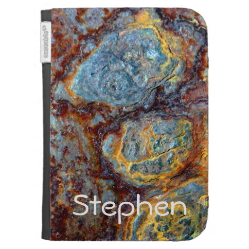 Pipe Blisters Beautiful Grunge Rust Pattern Kindle Folio Cases