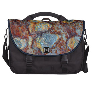 Pipe Blisters Beautiful Grunge Rust Pattern Laptop Bags