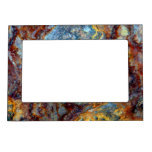 Pipe Blisters Beautiful Grunge Rust Pattern Frame Magnet