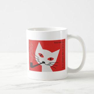 Pipe Cat Coffee Mug