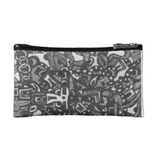 """Pipe Dream Decorated Cosmetic Bag"
