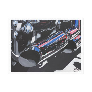 Pipe dreams stretched canvas prints
