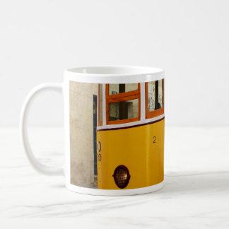Pipe Funicular railway, Lisbon, Portugal Coffee Mug