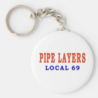 PIPE LAYERS KEYCHAIN