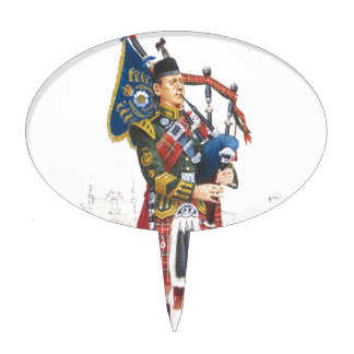 Pipe Major, Royal Scots Guards Cake Picks
