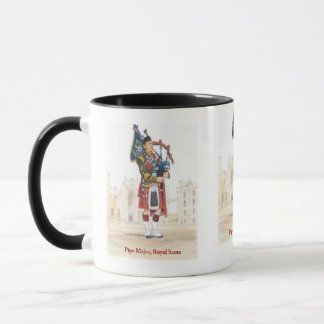 Pipe Major, Royal Scots Guards Mug