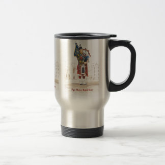 Pipe Major, Royal Scots Guards Travel Mug