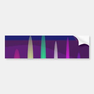 Pipe Organ Art Bumper Stickers