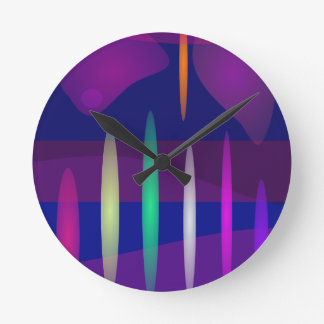 Pipe Organ Art Round Clock
