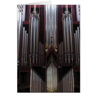Pipe Organ at St. Giles Cathedral, Scotland Greeting Card