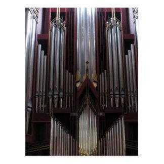 Pipe Organ at St. Giles Cathedral, Scotland Postcard