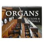 Pipe organ calendar  Up Close #2
