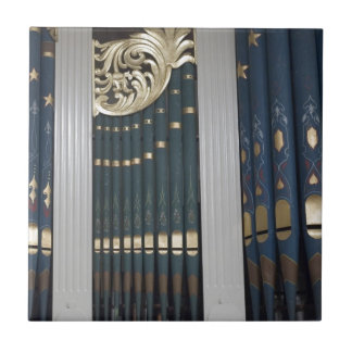 Pipe organ ceramic tile